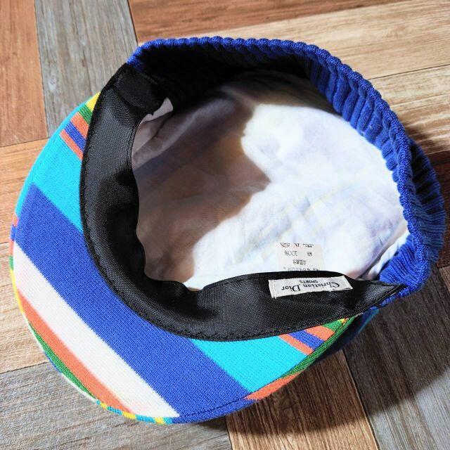 Christian Dior(クリスチャンディオール)のChristian Dior SPORTS マルチストライプ キャスケット メンズの帽子(キャップ)の商品写真