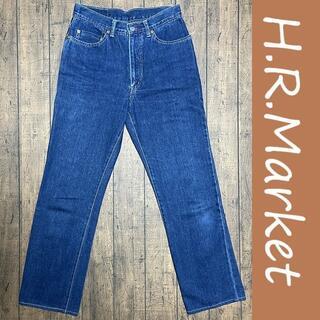 HOLLYWOOD RANCH MARKET - HRM ストレートデニム 29/H.R.MARKET、エイチアールエム、聖林公司