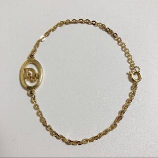 Christian Dior - Dior ディオール ロゴ ブレスレット ゴールド 美品