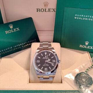 ROLEX - 【ロレックス】エクスプローラー1 214270 新ギャラ 中古SA