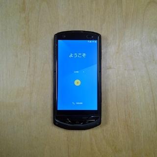 キョウセラ(京セラ)のTORQUE G02 KYV35 ブラック 【SIMロック解除済み】(スマートフォン本体)