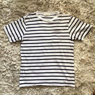 エディフィス(EDIFICE)のエディフィス ボーダーTシャツ(Tシャツ/カットソー(半袖/袖なし))