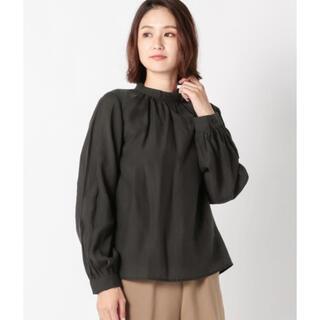 ミューズ(Mew's)のMEW'S REFINED CLOTHES シアーボトルネックブラウス(シャツ/ブラウス(長袖/七分))