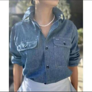 MADISONBLUE - MADISON BLUE マディソンブルー  シャンブレー 01 デニムシャツ