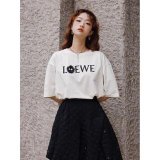 LOEWE - ★2枚9000円 LOEWE 刺繍ロゴ人気の半袖