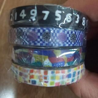 ソウソウ(SOU・SOU)のmt × sou sou  4種類  sale  極細マステ  4巻セット(テープ/マスキングテープ)