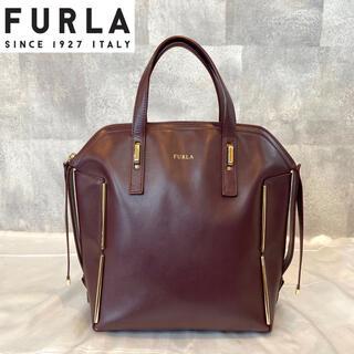 Furla - 【FURLA】フルラ 2way Dandy トートバッグ ワインレッド レザー