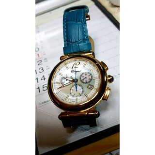 サルヴァトーレフェラガモ(Salvatore Ferragamo)のSalvatore Ferragamoイディリオ腕時計⌚ブルー💙💙(腕時計)
