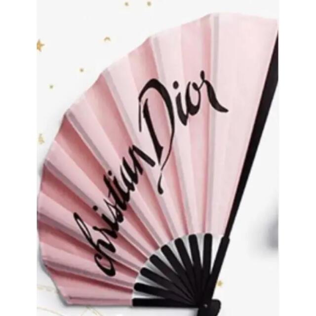 Christian Dior(クリスチャンディオール)のディオール 扇子 エンタメ/ホビーのコレクション(ノベルティグッズ)の商品写真