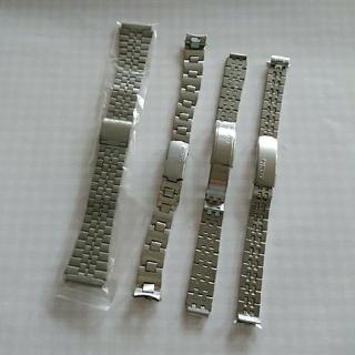 カシオ(CASIO)の値下げ  セイコー 腕時計ベルト 金属ベルト 純正 カシオ シチズン 4本セット(金属ベルト)