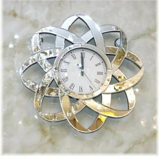 ZARA HOME - 豪華!ミラーデザイン掛け時計!