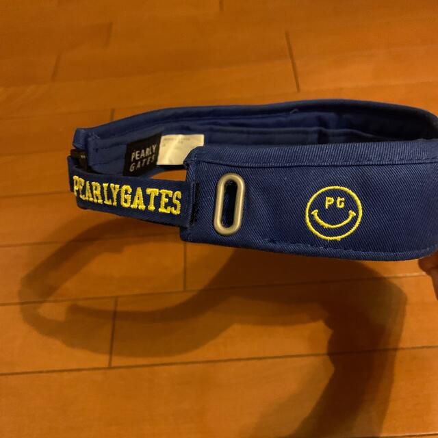 PEARLY GATES(パーリーゲイツ)の格安❣️パーリーゲイツ バイザー メンズの帽子(サンバイザー)の商品写真