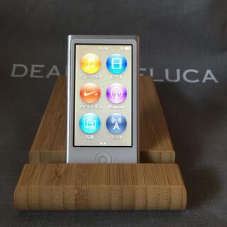 Apple - アップル iPod nano 第7世代 銀 シルバー 16G ユーズド