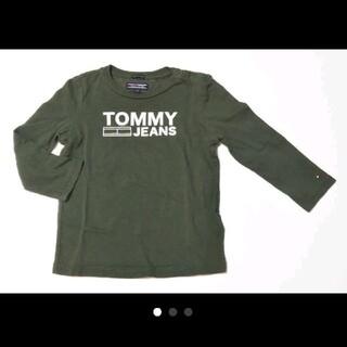 TOMMY HILFIGER - TOMMY HILFIGER グリーン ロンティ92cm