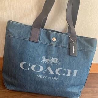 COACH - COACH  デニムトート