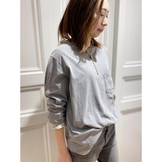 DEUXIEME CLASSE - 新品 MUSE ドゥーズィエムクラス レミレリーフ ポケツキ7ブTシャツ