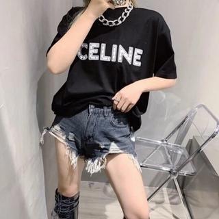 celine - celine 21 ss春夏新作リベットtシャツ