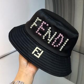 FENDI - 人気美品Fendi フェンディ 帽子 ハット 漁夫帽 男女兼用