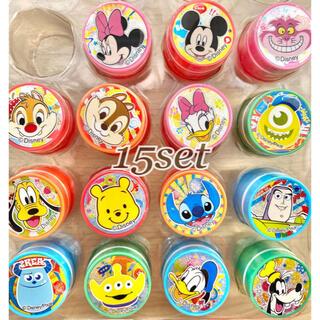 Disney - ●ディズニーキャラクター 円筒スタンプ 15個セット