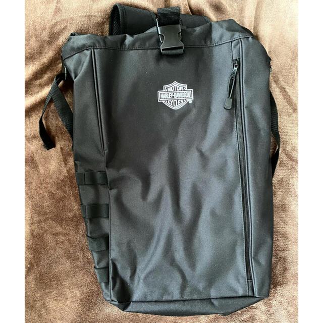 Harley Davidson(ハーレーダビッドソン)の【お値下中】ハーレーダビッドソン リュック【Harley-Davidson】 メンズのバッグ(バッグパック/リュック)の商品写真