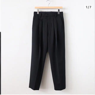 SUNSEA - stein シュタインWIDE TAPERED TROUSERS_A