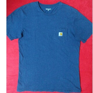 carhartt - Carhartt カーハート Tシャツ 半袖 グレイッシュブルー 即購入可