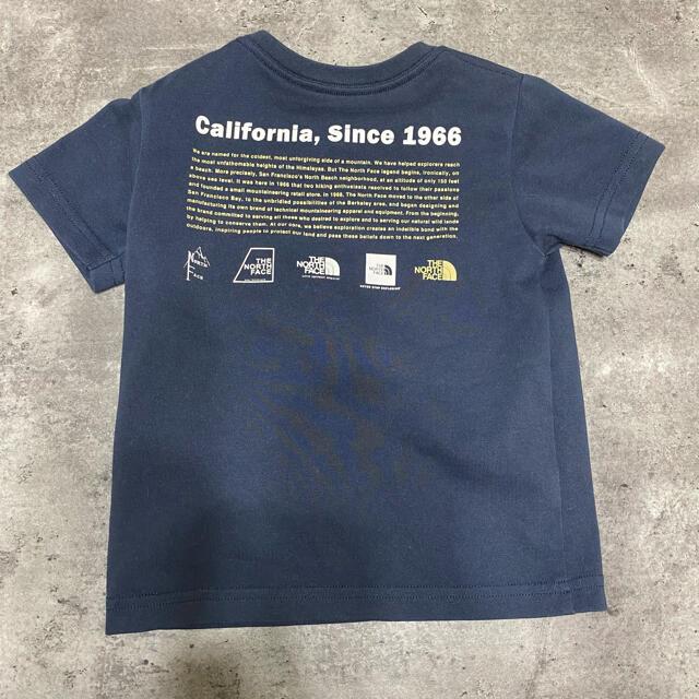 THE NORTH FACE(ザノースフェイス)のノースフェイス Tシャツ キッズ/ベビー/マタニティのキッズ服男の子用(90cm~)(Tシャツ/カットソー)の商品写真