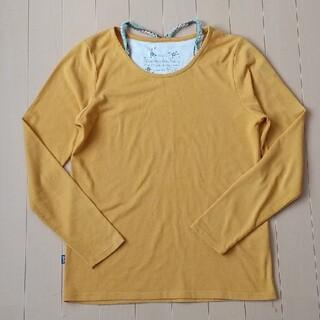 ラフ(rough)のrough イエロー ロンT(Tシャツ(長袖/七分))