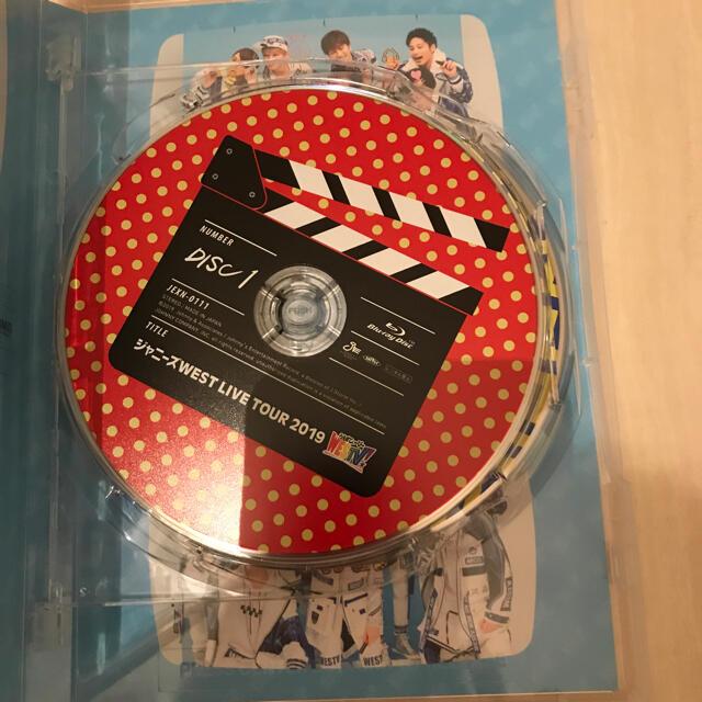 ジャニーズWEST(ジャニーズウエスト)のジャニーズWEST WESTV! Blu-ray 初回限定盤 エンタメ/ホビーのDVD/ブルーレイ(ミュージック)の商品写真