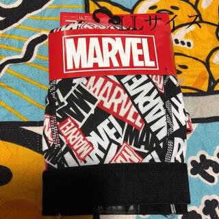 マーベル(MARVEL)の新品 マーベル ボクサーパンツ LLサイズ ブラック×ホワイト(ボクサーパンツ)