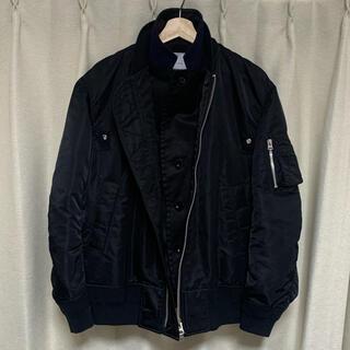 sacai - sacai サカイ MA-1 ボンバージャケット SCM-011