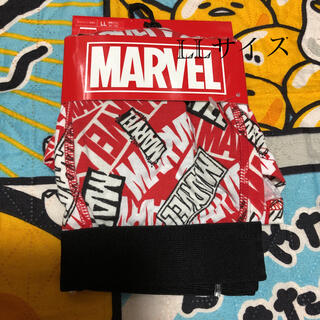 マーベル(MARVEL)の新品 マーベル ボクサーパンツ LLサイズ レッド×ホワイト(ボクサーパンツ)