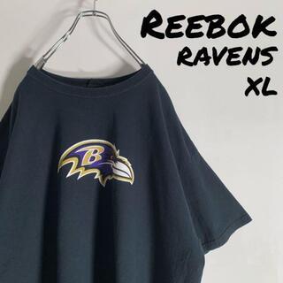 リーボック(Reebok)の【XL】リーボック NFL レイヴンズ リード 20 ビッグロゴ Tシャツ(Tシャツ/カットソー(半袖/袖なし))