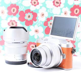 Panasonic - ❤Wi-fi機能搭載❤️LUMIX DC-GF7❤タッチパネル操作❤大人気❤