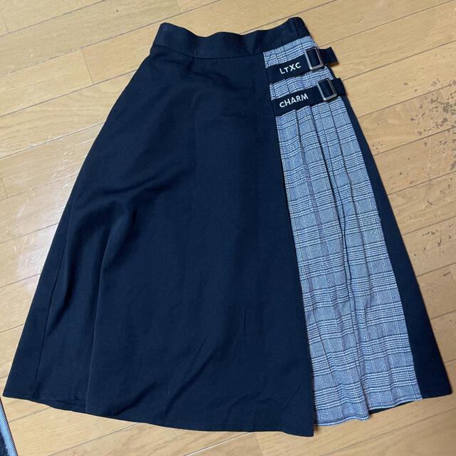 lovetoxic(ラブトキシック)のラブトキシックロングスカート キッズ/ベビー/マタニティのキッズ服女の子用(90cm~)(スカート)の商品写真