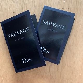 ディオール(Dior)のdior 香水 dior ソヴァージュ オードトワレ 2点(ユニセックス)