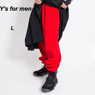 Yohji Yamamoto - 【レア!】ワイズフォーメン ワイドパンツ ヨウジヤマモト レッド