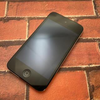 アイポッドタッチ(iPod touch)のiPod touch 第4世代 A1367 32GB ブラック(ポータブルプレーヤー)