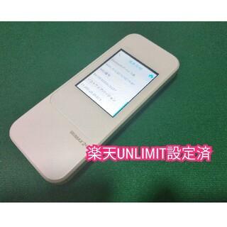 ファーウェイ(HUAWEI)の【楽天UN-LIMIT設定済】Speed Wi-Fi NEXT W04 AU版(PC周辺機器)
