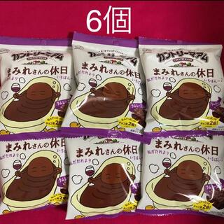 フジヤ(不二家)のカントリーマアム まみれさんの休日 48g×6個  限定品 (菓子/デザート)