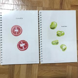 スケッチブック×2(スケッチブック/用紙)
