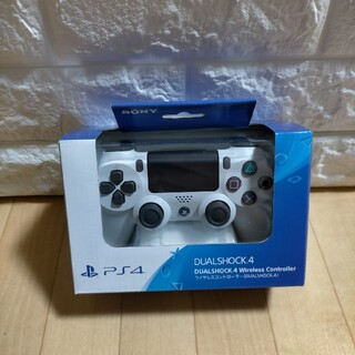 PlayStation4 - 新品、最安値 未開封 ps4コントローラー 新品 ホワイト