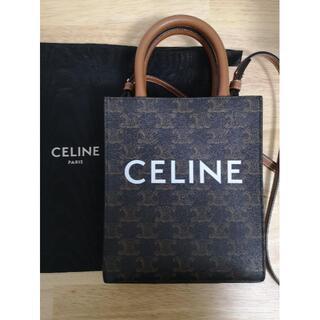celine - CELINE ミニ バーティカルカバ トリオンフ キャンバス