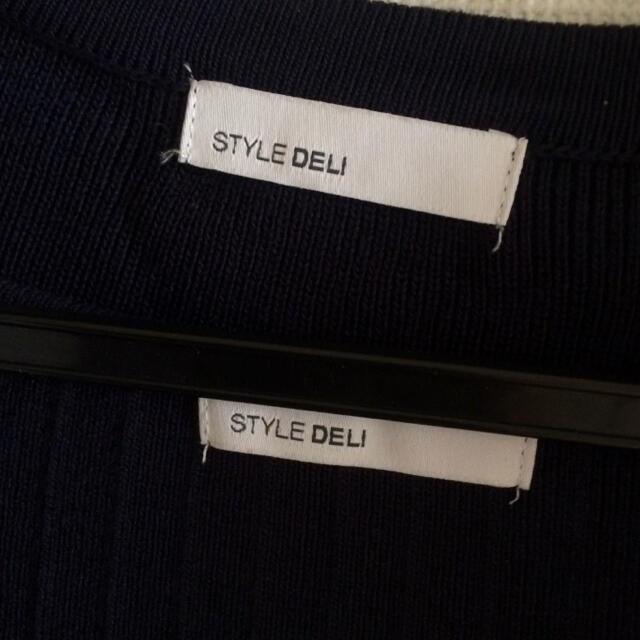 STYLE DELI(スタイルデリ)のスタイデリ ボレロカーディガンとタンクトップのセット レディースのトップス(タンクトップ)の商品写真
