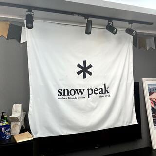 【送料無料】壁掛けタペストリー ビッグフラッグ snow