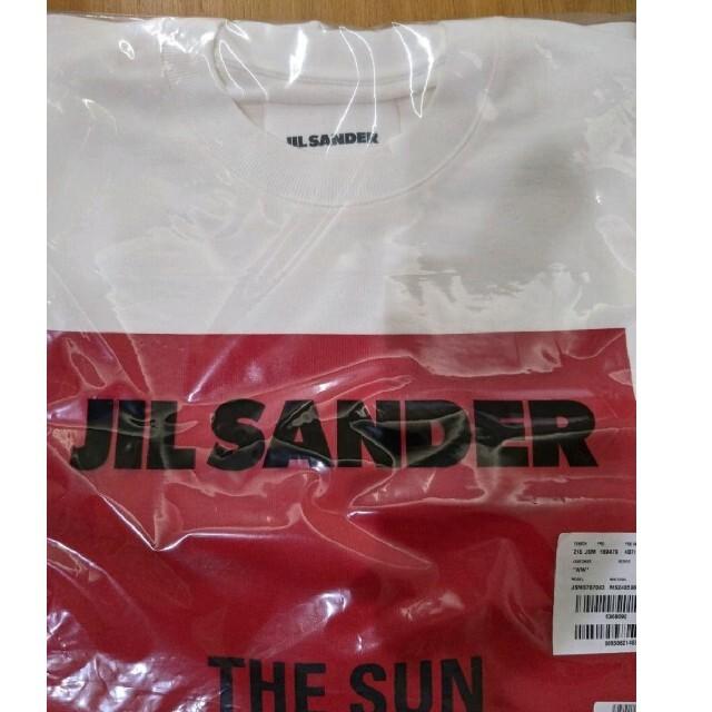 Jil Sander(ジルサンダー)の【確実正規品】jil sander  21SS ビッグTEE L 新品タグ付 メンズのトップス(Tシャツ/カットソー(半袖/袖なし))の商品写真