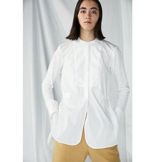ENFOLD - ENFOLD スタンド ロングシャツ
