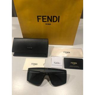FENDI - 新品FENDI トータスシェル Forever Fendi シールド サングラス