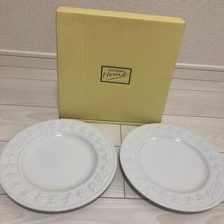 WEDGWOOD - WEDGWOOD ウェッジウッド 皿 プレート 27cm 2枚セット 新品未使用