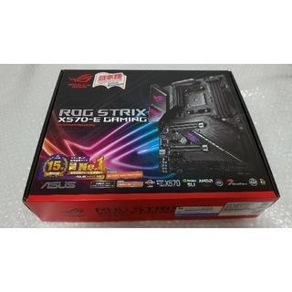 エイスース(ASUS)の美品 ASUS ROG STRIX X570-E GAMING 最新BIOS更新(PCパーツ)